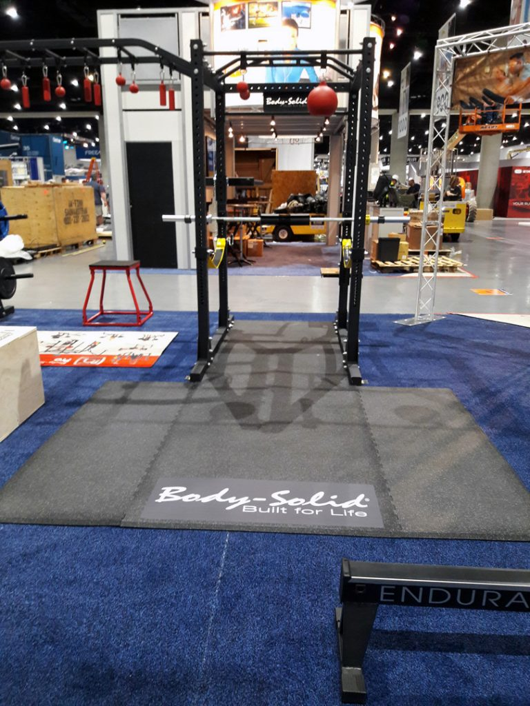 Body-Solid at IHRSA 2018 (San Diego, California)