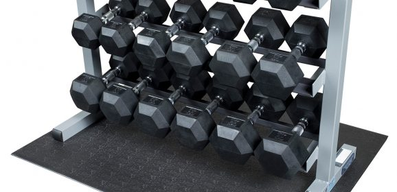Body-Solid GDR363 Named Top Dumbbell Set (EZVid.com)