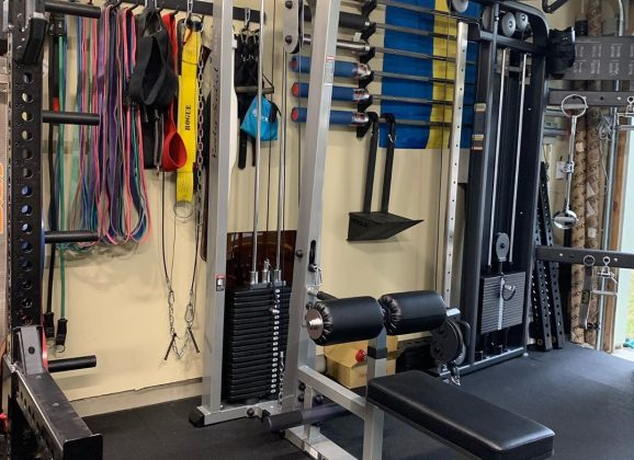 Garage-Gyms.com Review of SLM300G Lat & Mid Row Tower