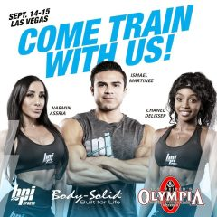 Body-Solid at Mr. Olympia 2018 (BPI Sports)