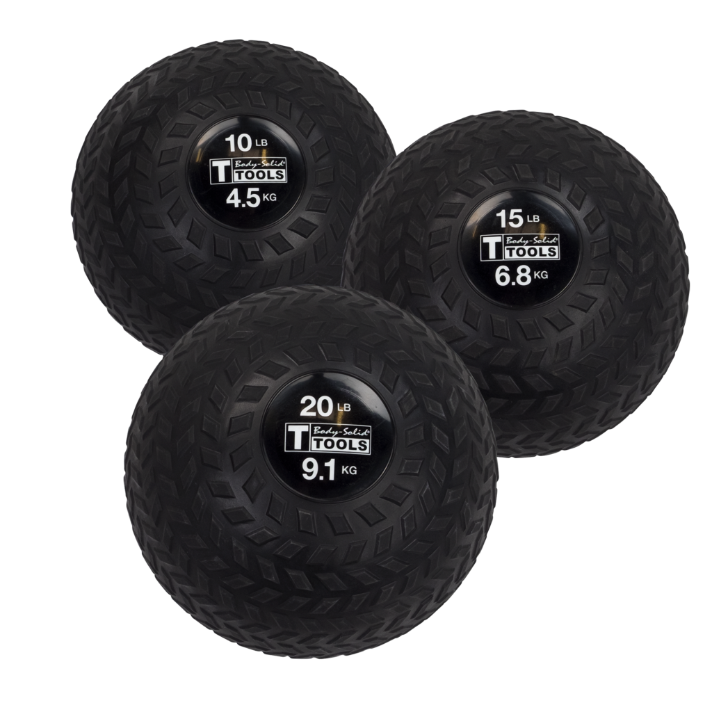 Body-Solid Tools Tire Tread Slam Balls