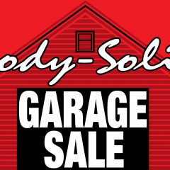 Body-Solid to Hold Once-In-A-Lifetime Garage Sale