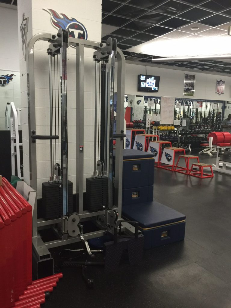 Body-Solid SDCC2000G-2 at the Tennessee Titans Strength & Conditioning Facility