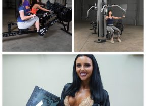 Body-Solid Model Lilly Shines at NPC Continental USA