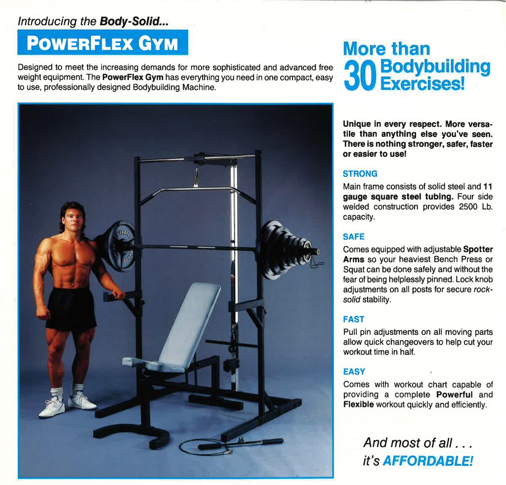 Body-Solid PowerFlex Gym