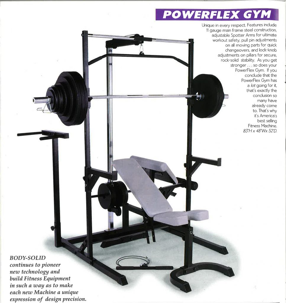 Body-Solid PowerFlex Gym (PFG1)
