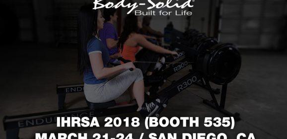 Body-Solid at IHRSA 2018 (San Diego, CA)